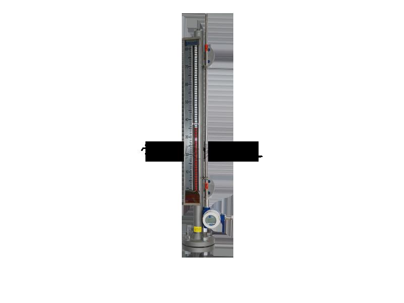 磁致伸缩液位计的顶装方法